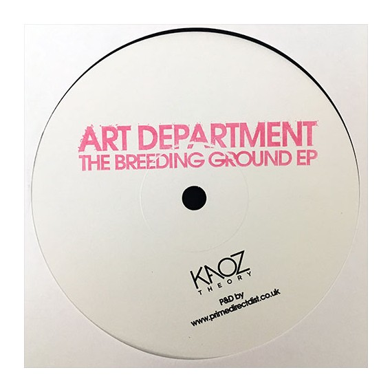 ART DEPARTMENT***THE BREAKING GROUND EP