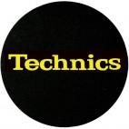 FEUTRINES TECHNICS NOIR LOGO JAUNE X2
