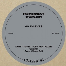 40 THIEVES***PERMANENT VACATION CLASSIC VOL.2