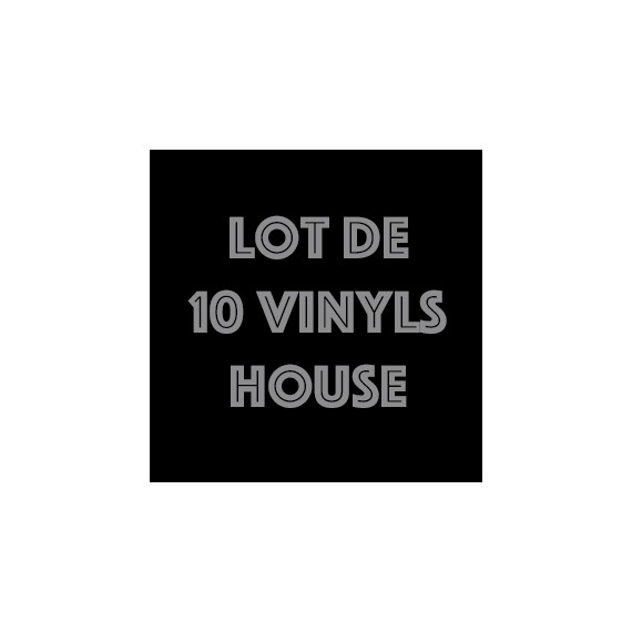 LOT 10 VINYLS HOUSE PACK 1