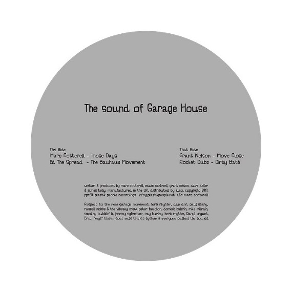 VARIOUS***THE SOUND OF GARAGE HOUSE