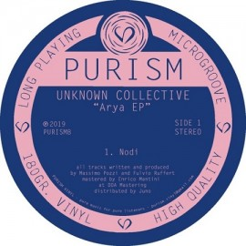UNKNOWN COLLECTIVE***ARYA EP