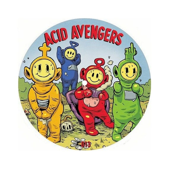 CAMERA SECURITY / WAVEBNDR***ACID AVENGERS 013