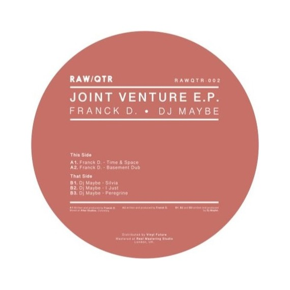 FRANK D / DJ MAYBE***JOINT VENTURE EP