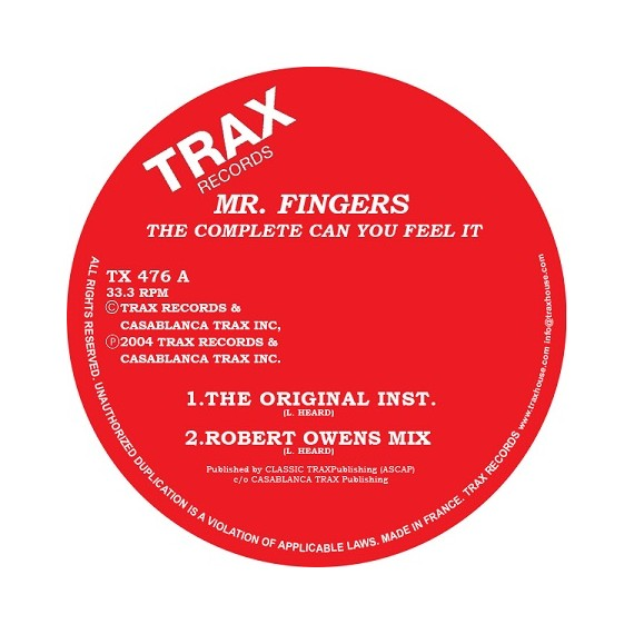 MR FINGERS***THE COMPLETE CAN YOU FEEL IT