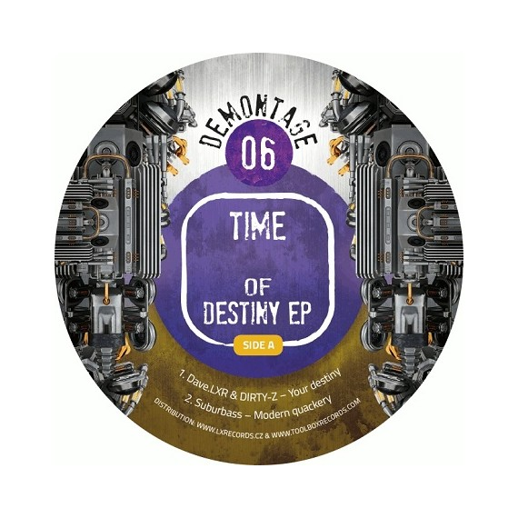 VARIOUS***TIME OF DESTINY EP