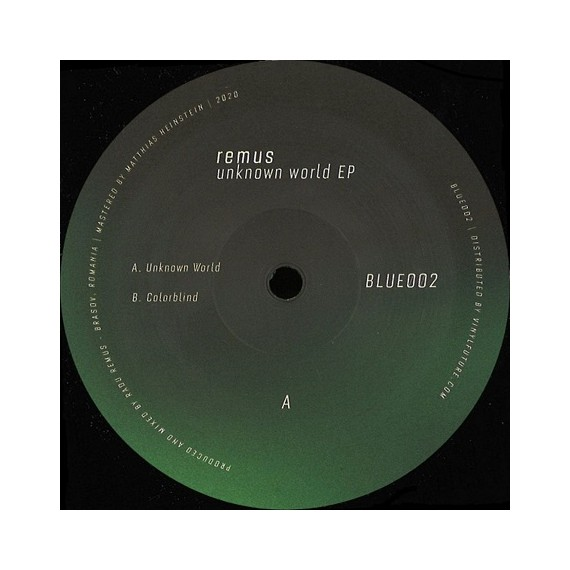 REMUS***UNKNOWN WORLD EP